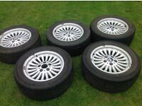 BMW set of 5 wheels