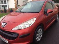 2007 Peugeot 207 1.6 HDI S. £30 Tax