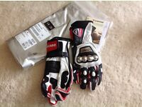 Ducati Dianese XS motorcycle gloves NEW