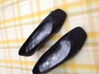 Ladies black smart shoes Never worn