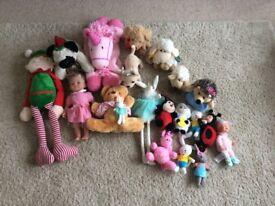 Soft toy assortment