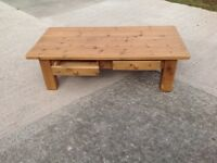 Solid Pine Leekes Coffee Table
