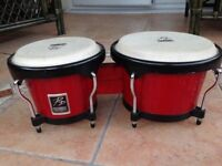 Performance Percussion drums, bongos