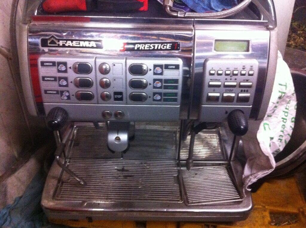 Faema prestige 3in1 coffee machine