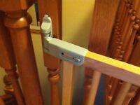 Wooden Stair Gate (adjustable)