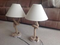 Nautical Rope Table Lamps