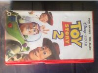 Toy Story 2 vhs tape