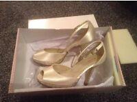 Rainbow Club Ivory Wedding Shoes Size 3