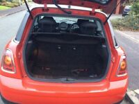 Red mini exceptantly low mileage