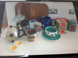 A number of miscellaneous items for sale.