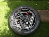 VW Beetle Spare Wheel and Jack