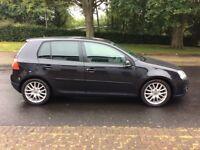 VW GOLF GT SPORT TDI 170 BHP(2 OWNERS, FULL BLACK LEATHER, FSH, 1 YEAR MOT, TIMING BELT/WATER PUMP)