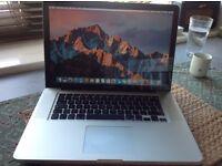 "Apple MacBook Pro 15"" Intel core i7."