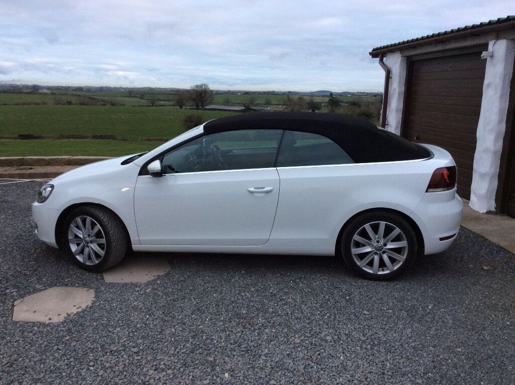 volkswagen golf 1 6 tdi bluemotion tech se cabriolet for. Black Bedroom Furniture Sets. Home Design Ideas