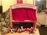 Puppet theatre ELC Early learning centre with 23 puppets! toys finger puppet! £25 ono