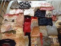 HUGE GIRLS CLOTHES BUNDLE AGE 7/8YRS MOSTLY NEXT ITEMS