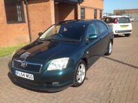 TOYOTA AVENSIS VVTI T3-X (54) VERY LOW MILES, SERVICE HISTORY.