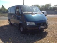 FORD TRANSIT SMILEY FACE CUSTOM, 1 OWNER VAN WITH FULL HISTORY AND ONLY 72000 GENUINE MILES