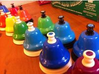 Diatonic Desk Bells (Complete Set)