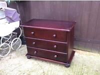 Two Bargain chest of drawers