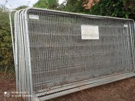 Heras Fencing Panels (49 used)