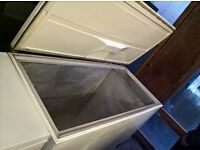 White Chest big deep freezer ..130cm Cheap Free delivery