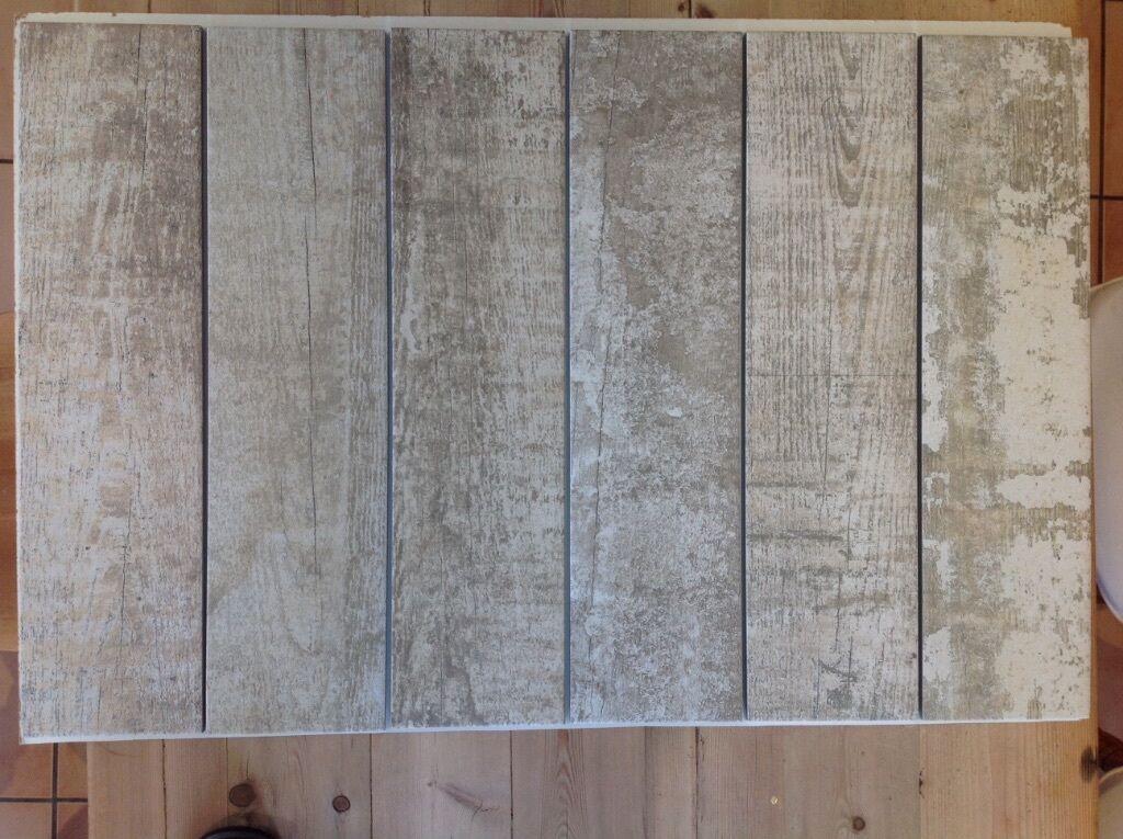 6 X Light Cornish Driftwood Topps Tiles 60cm 15cm