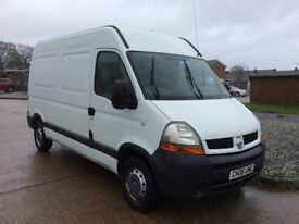 2006 RENAULT MASTER M.W.B. 1 YEARS MOT, DRIVES REALLY WELL