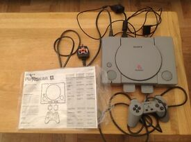 Sony PlayStation 1 with controller