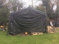 Clarkes 3.7m x 3.7m portable garage
