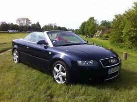 Audi A4 Cabriolet Convertible for sale