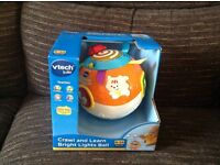 Vtech crawl and learn bright lights ball - new in box