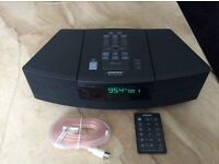 Bose Wave CD stereo system with remote.