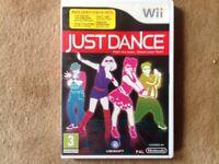 Nintendo Wii Just Dance Game
