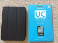 Genuine Apple iPad mini leather case & screen protector