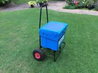 Fishing Trolly with box. Free delivery