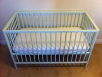 Mothercare Balham Cot with Airflow Spring Mattress