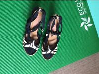 Summer heels by Dune size 5