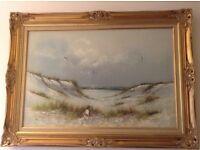 Stunning original large oil painting