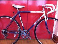 """Men's roadbike - refurbished 20"""" Raleigh racer, 26"""" wheels, 5-speed"""