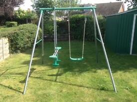 Swing and seesaw multi good condition