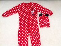 Minnie Mouse girls onesie