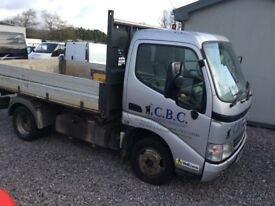 Toyota dyna 1 owner starts and drives great 3 way tipper no vat
