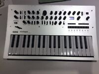 Korg Minilogue polyphonic analogue synth - mint condition, barely used