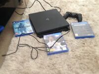 PlayStation 4. Also 3 games.