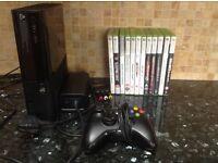 Xbox 360 E Console Black plus 12