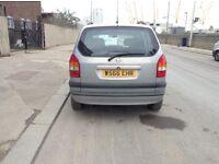 Left Hand Drive, Opel Zafira, 7 seater