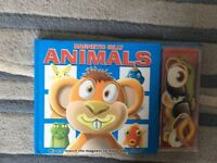 Children's Magnetic Book Silly Animals Learning Boy Girl