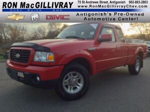 2009 Ford Ranger Sport..5SPD Manual..AC..Low KM..One Owner