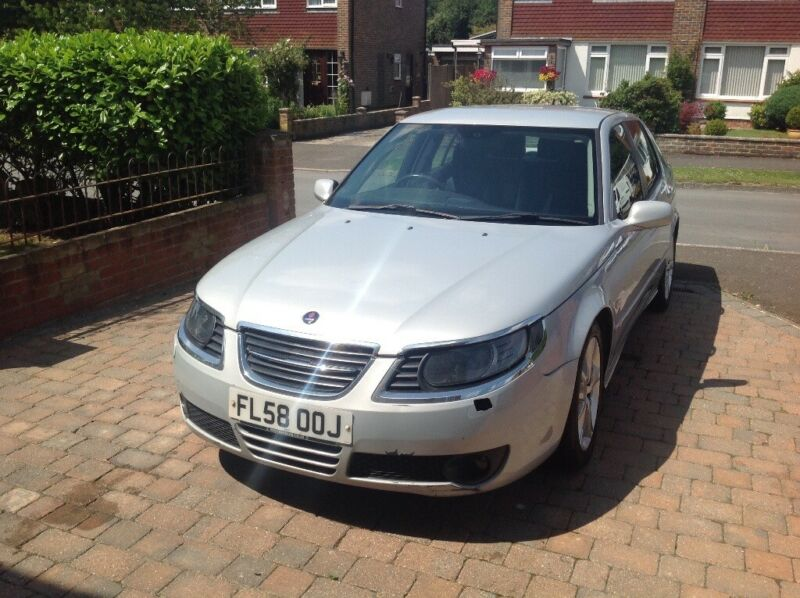 2008 SILVER SAAB 9.5 AERO ANNIVERSARY .   for sale  Pulborough, West Sussex